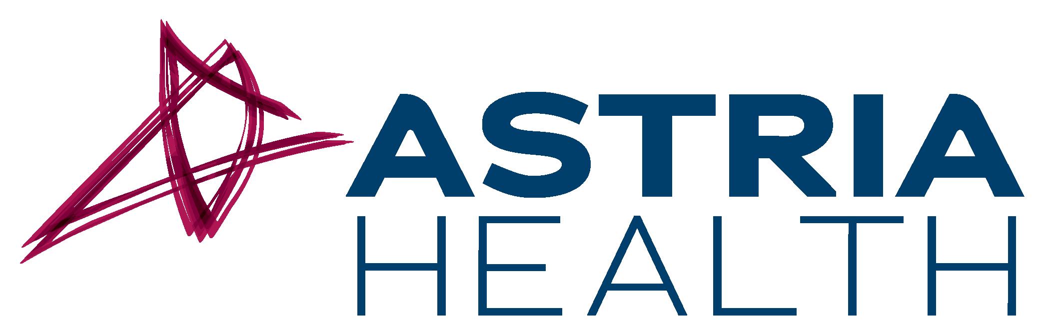 Astria Health Logo Stacked Color